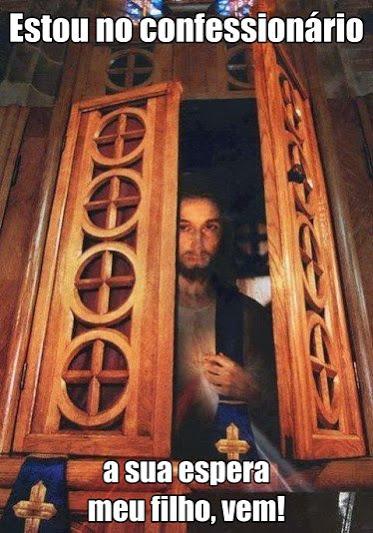 Jesus no confessionário