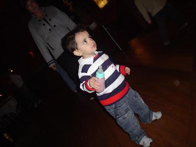 Criança na balada