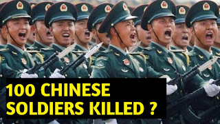 Chinese communist party's ex leader's son said 100 Chinese soldiers killed in Gaalwan