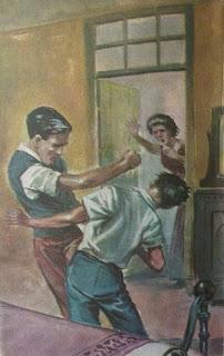 Éramos seis. Sra. Leandro Dupré. Edição Saraiva (São Paulo-SP). Coleção Saraiva, em dois volumes (nº 141 e 142). Março de 1960 (volume 141) e Abril de 1960 (volume 142). Contracapa de Nico Rosso.