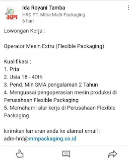 PT Mitra Multi Packaging