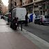La Policía Nacional entrega notificaciones por el coronavirus en Logroño