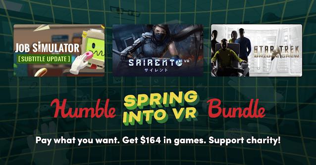Humble Spring Into VR Bundle - 15美金8款遊戲