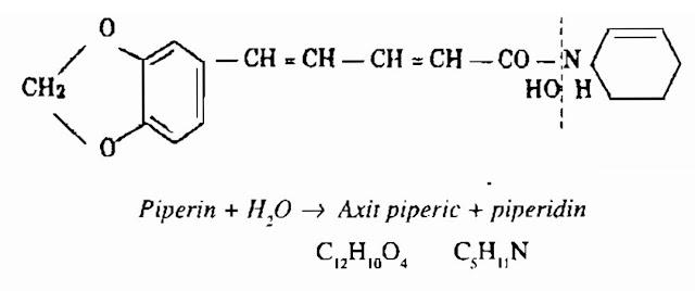 Thành phần hóa học Hạt Tiêu - Hồ Tiêu - Piper nigrum - Nguyên liệu làm thuốc Chữa Bệnh Tiêu Hóa