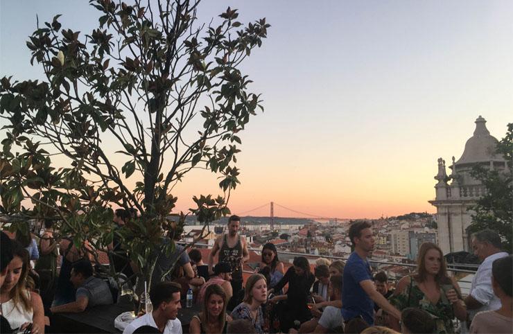 adresses rooftop - blog voyage Lisbonne