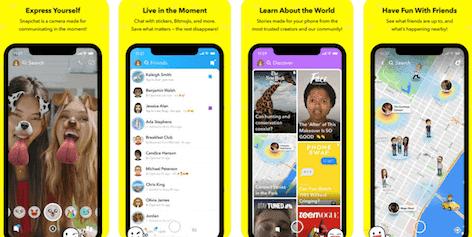 تطبيق سناب شات Snapchat