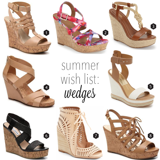 8 wedges to step into summer