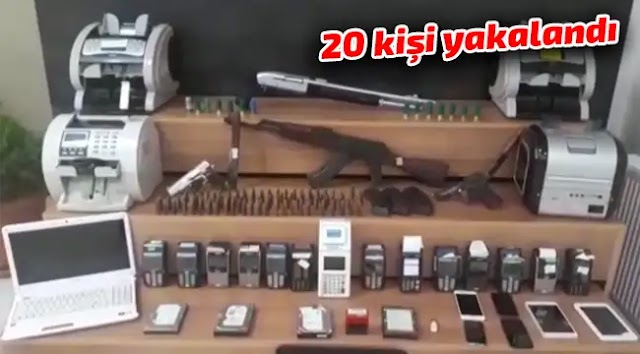 Urfa'da 34 adrese tefeci operasyonu