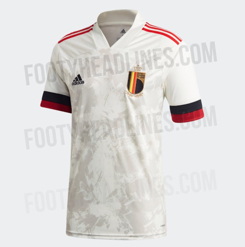 Belgium Euro 2020 away kit