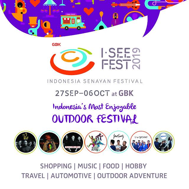 Tiket masuk I see Fest, harga tiket masuk I see Fest, jam buka I see fest