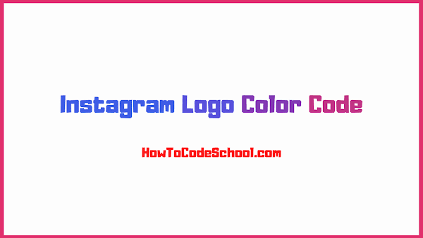 Instagram Logo Color Code