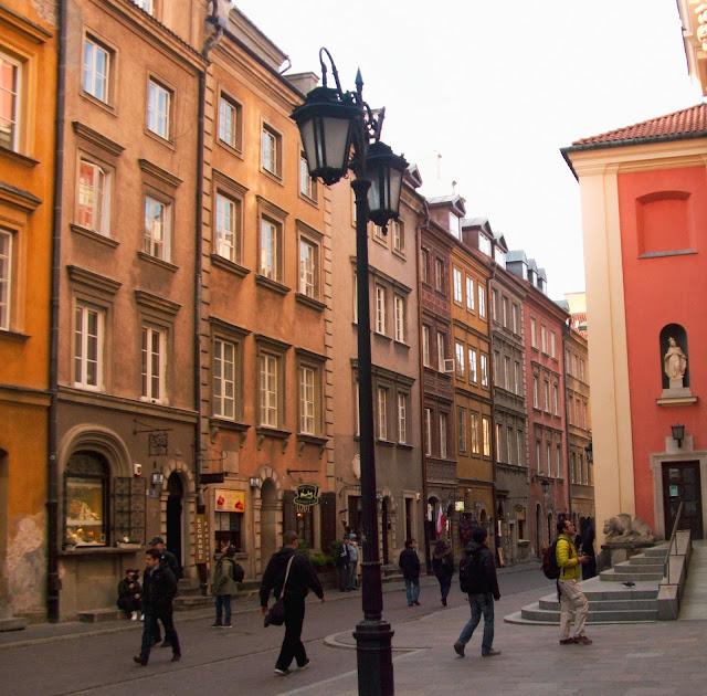Warszawa, kamienice, zabytki