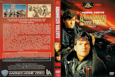 Filme Amanhecer Violento 1984 (Red Dawn) DVD Capa