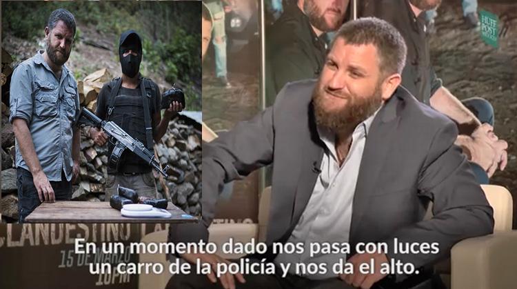 """VIDEO: ENTREVISTA a """"BERIAIN"""",el INFILTRADO """"CLANDESTINO"""" en el CARTEL de SINALOA"""