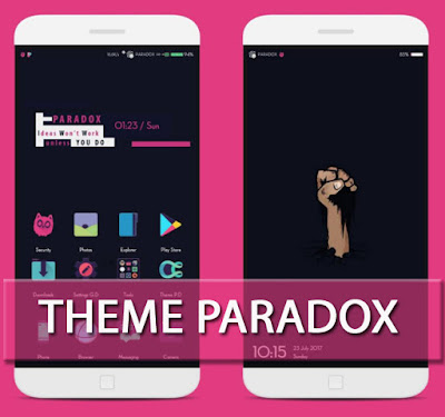 Update Tema Paradox MIUI Mtz For Xiaomi New