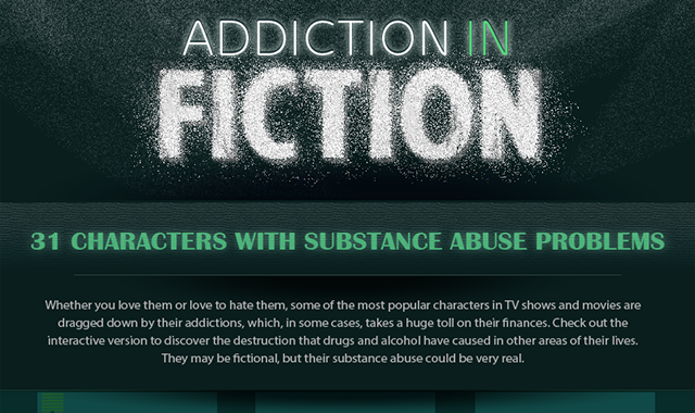 31 Characters with Substance Abuse Problems