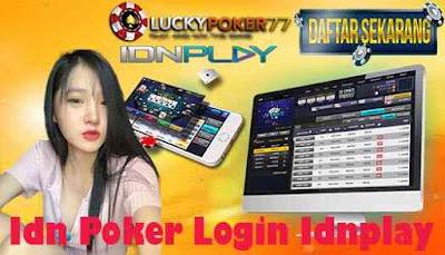 Idn Poker Login Idnplay