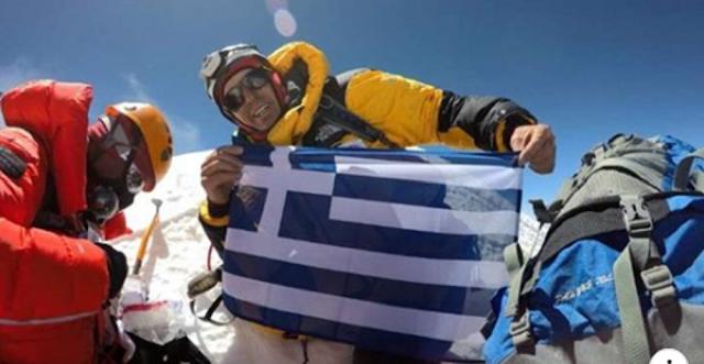 Ο Έλληνας που έχει βρεθεί σε τέσσερις κορυφές πάνω από τα 8.000 μέτρα μέσα σε ένα χρόνο