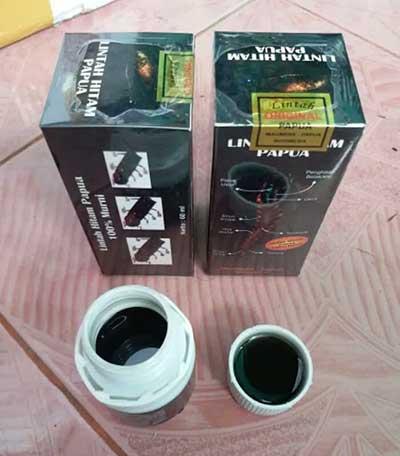 minyak lintah hitam papua original