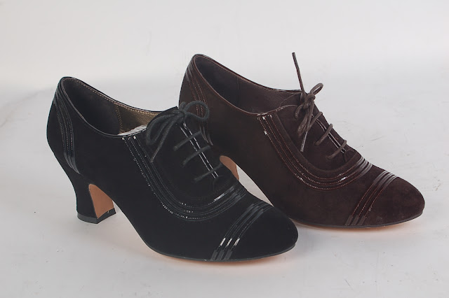 Claremont 1930s oxford shoes