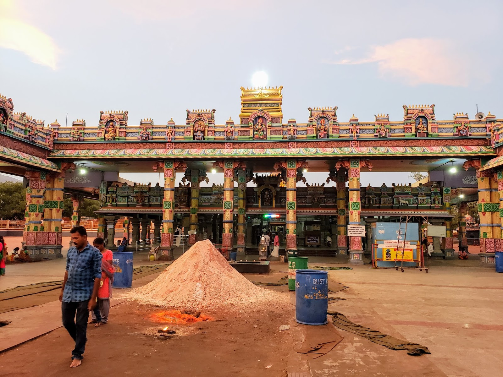 Bannari Mariamman Temple Inside, Bannari