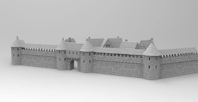 Townwall and gate picture 1