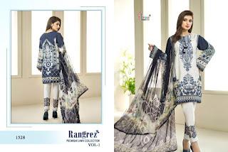Shree fab Rangrez Premium Lawn pakistani Suits