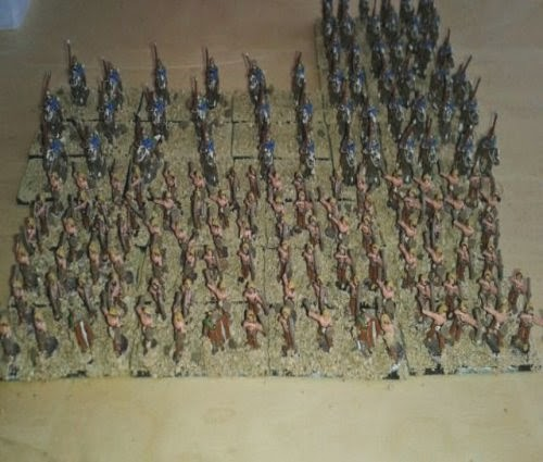 1000 point Gallic Warmaster ancients army picture 1