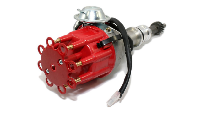 Assault Racing Products 1130211 Small Block Ford Ready to Run Complete Red Cap Electronic Distributor