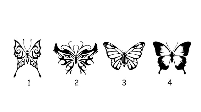 Choose a Butterfly to Reveal Prophetic Message