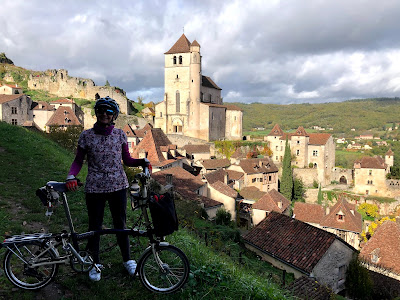 French Village Diaries cycling in the Lot before lockdown