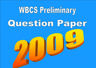 WBCS Preliminary Question Paper 2009