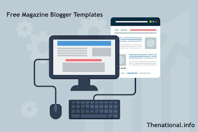 Free Magazine Blogger Templates