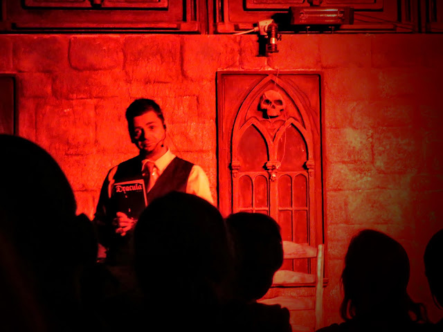 Castle Dracula Experience in Dublin - Emcee and Magician