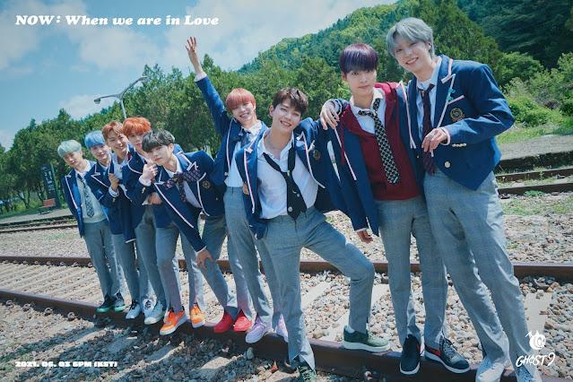 GHOST9, grupo de k-pop