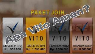 Apakah Vito Aman Benar Menghasilkan Uang