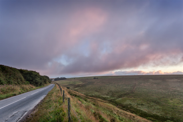 Sunrise lights up the clouds near the Exe Valley by Martyn Ferry Photography