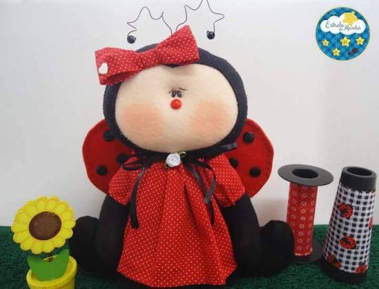 Joaninha passo a passo | Croche.com.br | 420x550