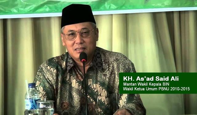 KH As'ad Said Ali: Secara Hukum HTI Tidak Dinyatakan Ormas Terlarang, Jangan Bertikai, Tetap Bersatu Dalam Perbedaan