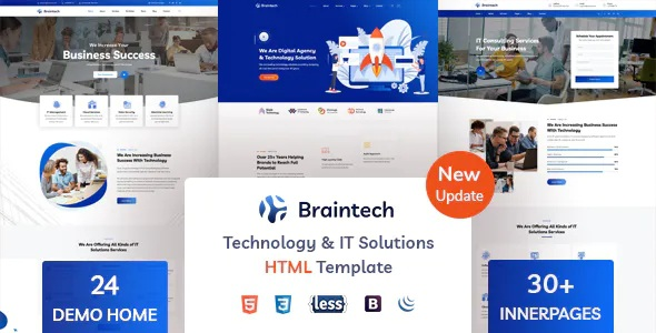 Best Technology and IT Solutions HTML Template