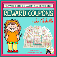 Reward Coupons - Classroom Management