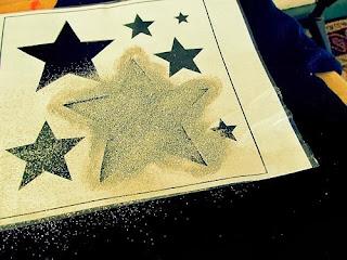 Simli Yıldızlarla Bluz Süsleme Yapımı