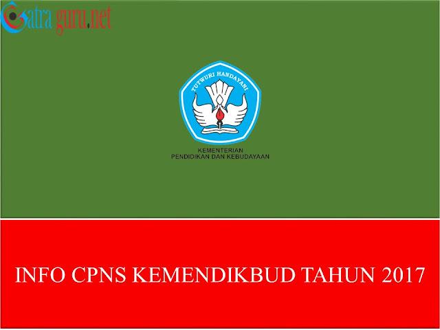 Info CPNS Kemendikbud 2017
