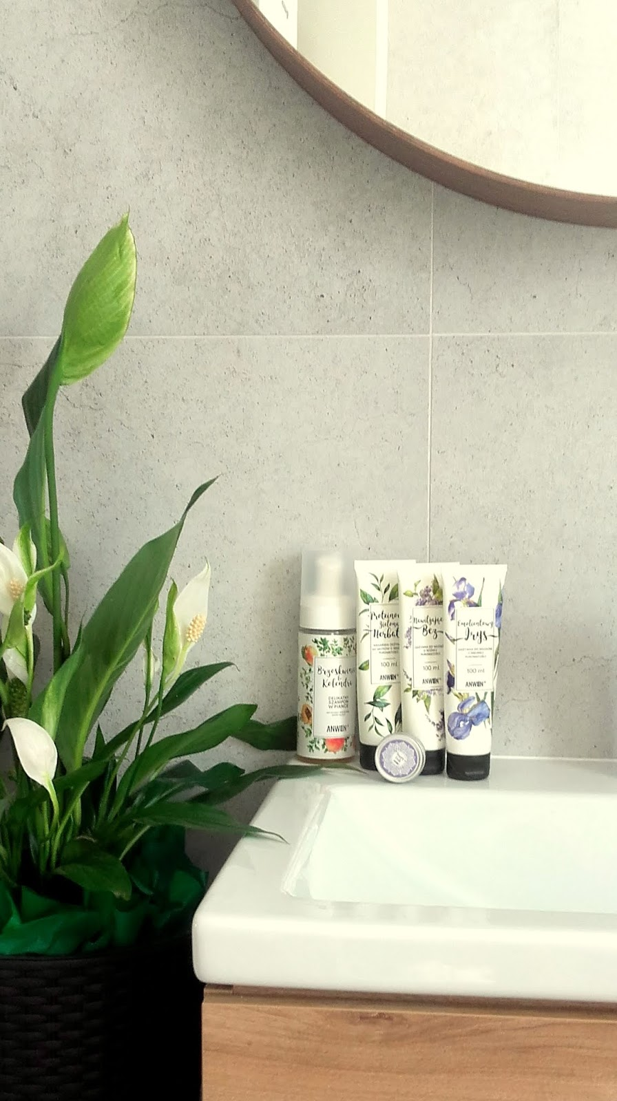 Co sądzę o:  produkty do pielęgnacji włosów ANWEN