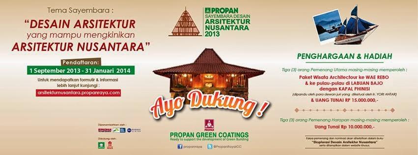 Event Di Yogyakarta Bulan Februari 2013 Portal Info Lowongan Kerja Di Yogyakarta Terbaru 2016 Sayembara Desain Arsitektur Nusantara 2013 Arsitek Tung