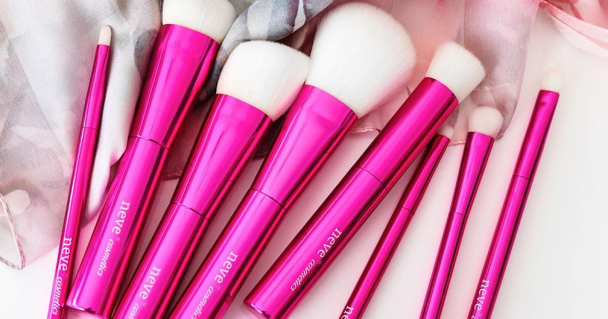 68bec1be29 Neve Cosmetics Azalea Brushes | Review | 10 ways to wear makeup