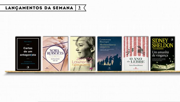 [GRUPO EDITORIAL RECORD] LANÇAMENTOS DA SEMANA #02 - NOVEMBRO/2016