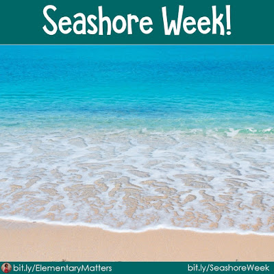 "Seashore Week! Kids love a fun theme. It's motivating for them and holds their interest. Here are some ideas for spending a week at the ""beach!"""