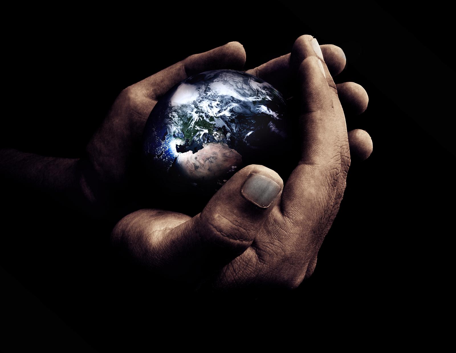 Deus criou o mundo como uma bola?