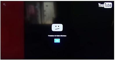 Tidak bisa buka youtube karena youtube indihome tidak diizinkan, ini solusinya